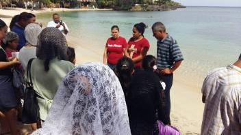 arlyn baptism2
